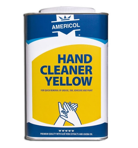 Mycí pasta Americol Hand Cleaner Yellow 4,5 l