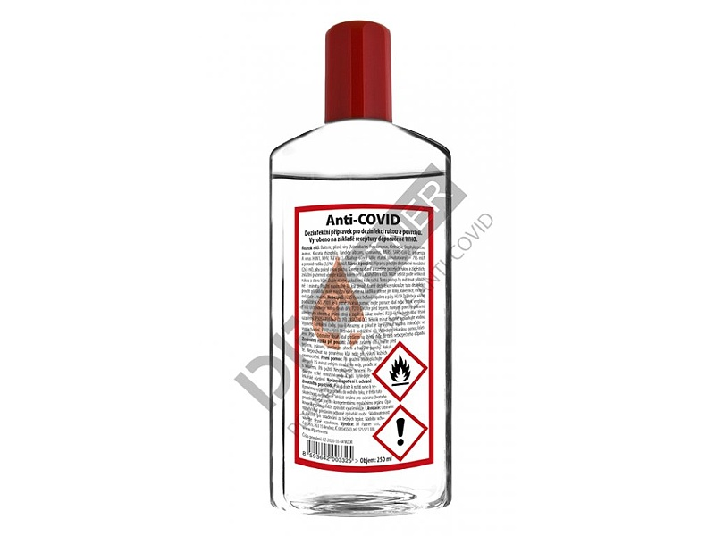 Anti-COVID dezinfekce 250 ml - gel