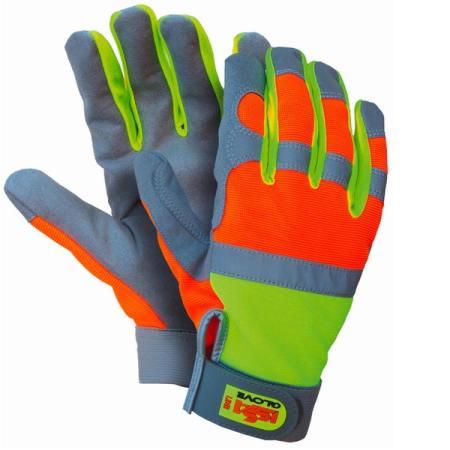 Reflexní rukavice ISSA Street glove 07326