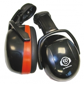 Sluchátka EAR DEFENDER orange - přilba